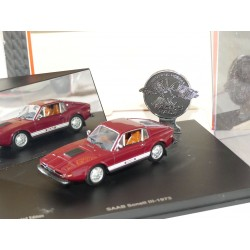 SAAB SONETT 3 COUPE 1972 Bordeaux UNIVERSAL HOBBIES 1:43