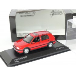 VW GOLF GTi III 1993 Rouge MINICHAMPS 1:43