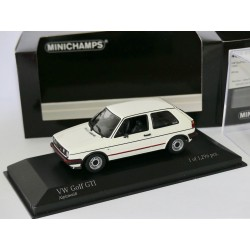 VW GOLF GTi II 1985 Blanc MINICHAMPS 1:43