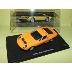 LAMBORGHINI MIURA P400 1966 Orange IXO PRESSE 1:43