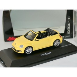 VW NEW BEETLE CABRIOLET Jaune Saturn SCHUCO 1:43