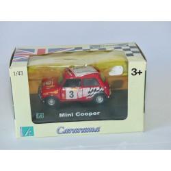 AUSTIN MINI COOPER RACING N°3 Rouge CARARAMA 1:43 boite carton