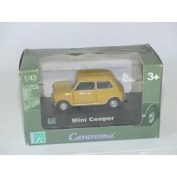 AUSTIN MINI COOPER Moutarde CARARAMA 1:43 boite carton