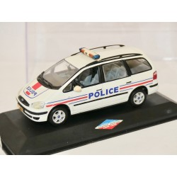 FORD GALAXY I Phase 1 POLICE sur base MINICHAMPS 1:43