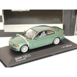 BMW SERIE 3 328 Ci Vert MINICHAMPS 1:43