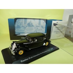 CITROEN TRACTION 15 COTY 1958 PRESIDENTIELLE ATLAS 1:43 Chef d'état