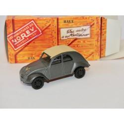 CITROEN 2CV N°014 CYCLOPE PROTOTYPE 1942 NOREV 1:43 boite carton