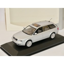 AUDI A6 C5 AVANT 3.0 Gris Clair VERSION TUNING MINICHAMPS 1:43