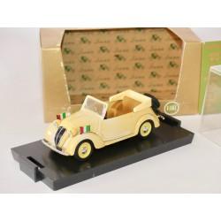 FIAT 1100 CABRIOLET 1937-1939 OFFICIEL BRUMM R85 1:43