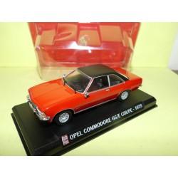 OPEL COMMODORE GS/E COUPE 1975 Rouge AUTO PLUS 1:43