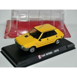 FIAT 124 SPORT 1971 Jaune AUTO PLUS 1:43
