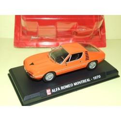 ALFA ROMEO MONTREAL 1970 Orange AUTO PLUS 1:43