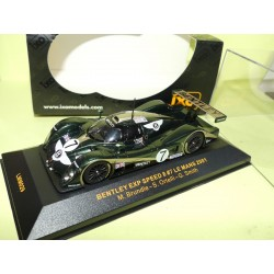 BENTLEY EXP SPEED N°7 LE MANS 2001 IXO LMM029 1:43 Abd