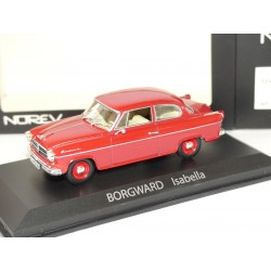BORGWARD ISABELLA BERLINE 1960 Rouge NOREV 1:43
