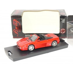 FERRARI 348 SPIDER Rouge BANG 8008 1:43