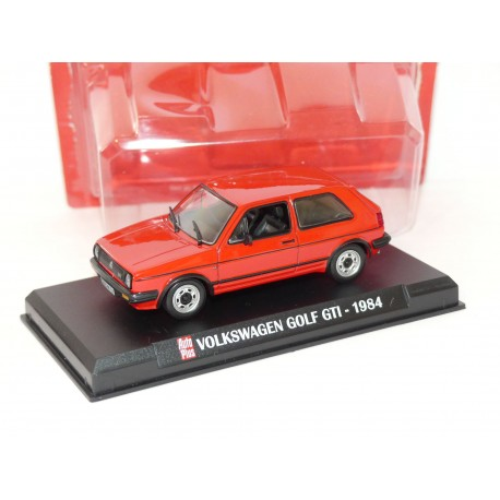 VW GOLF II 1984 Rouge AUTO PLUS 1:43