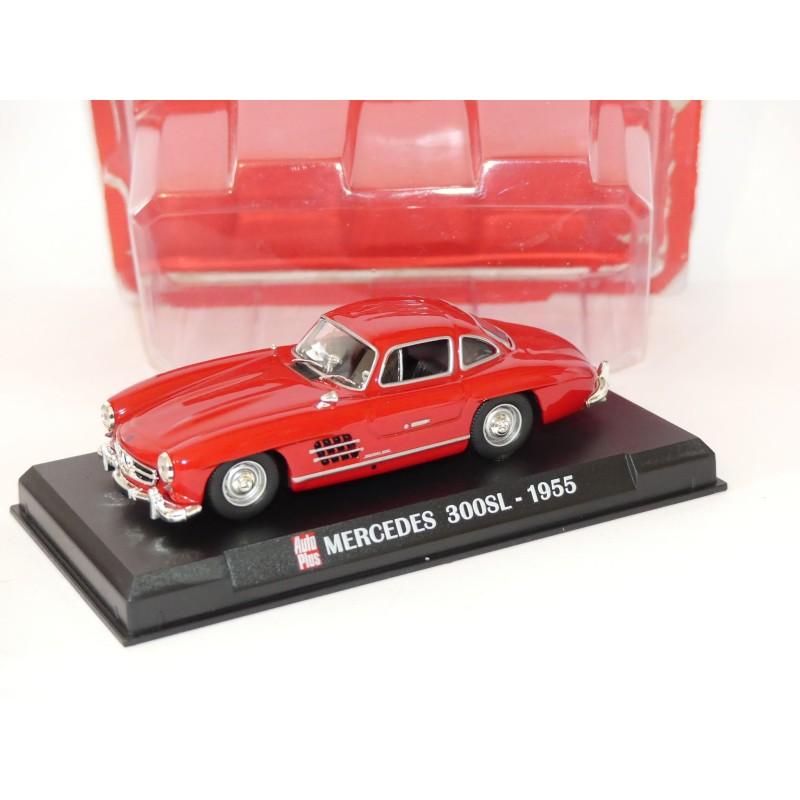 MERCEDES 300 SL 1955 Rouge AUTO PLUS 1:43