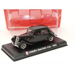 CITROEN TRACTION 11 AL 1935 Noir AUTO PLUS 1:43