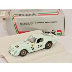 FERRARI GTO N°20 LE MANS 1962 BOX BEST 8402 1:43