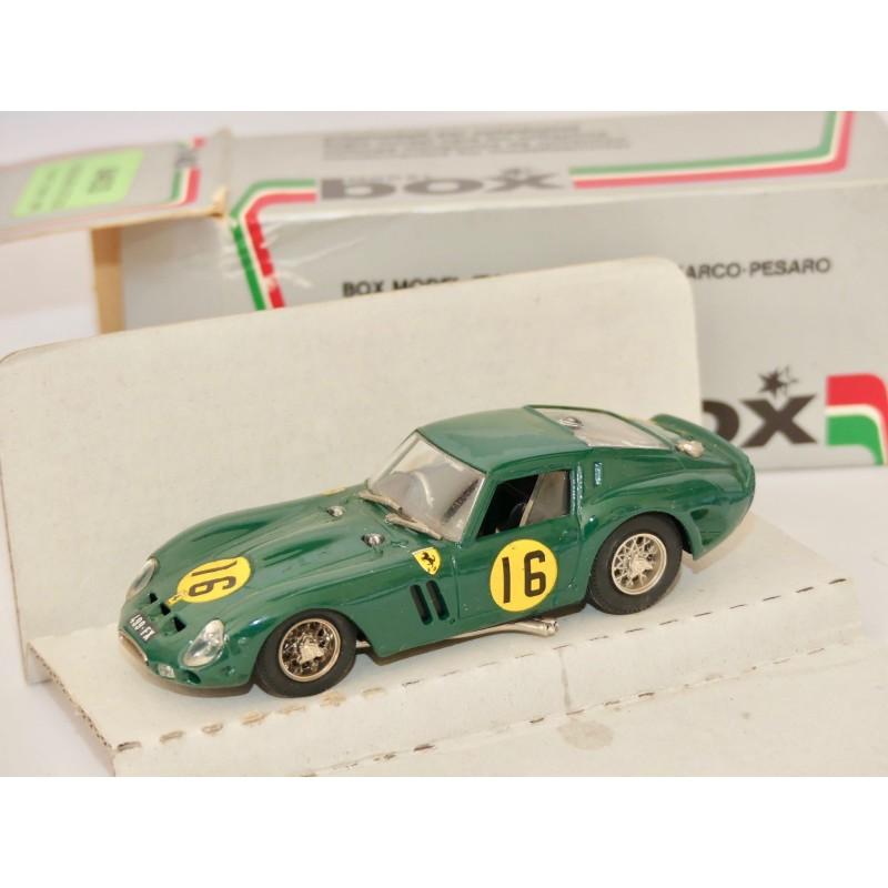 FERRARI GTO N°16 TOURIST TROPHY 1963 BOX BEST 8403 1:43