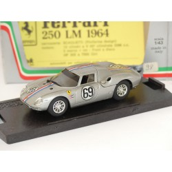 FERRARI 250 LM N°69 BRIDGE HAMPTON 1965 BOX BEST 8445 1:43 défaut