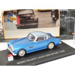 TALBOT LOGO 4500 SPORT 1956 Bleu NOSTALGIE NO053 1:43