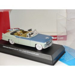 CHRYSLER WINDSOR DELUXE 1955 SPIROU ET FANTASIO ATLAS 1:43