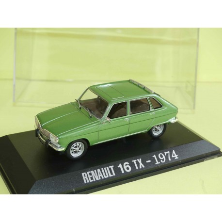 RENAULT R16 TX 1974 Vert UNIVERSAL HOBBIES Collection M6 1:43
