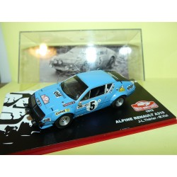 RENAULT ALPINE A310 RALLYE MONTE CARLO 1975 THERIER ALTAYA 1:43 Abd