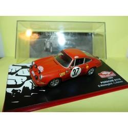 PORSCHE 911 S RALLYE DE MONTE CARLO 1969 WALDEGARD ALTAYA 1:43 1er