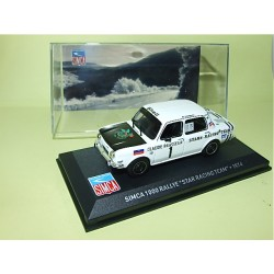 SIMCA 1000 RALLYE Star Racing Team 1974 ALTAYA 1:43