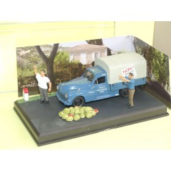 PEUGEOT 203 PICK UP La Manifestation ALTAYA N7 Route Bleu 1:43