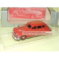 CHRYSLER WINDSOR SEDAN 1947 POMPIERS DE SAN FRANCISCO VITESSE 370 1:43