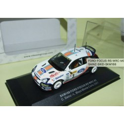FORD FOCUS RS WRC MONTE CARLO 1988 SAINZ VITESSE SKM188 1:43