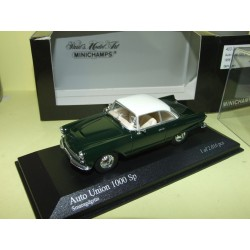 AUTO UNION 1000 SP 1958 Vert Dark Green MINICHAMPS 1:43