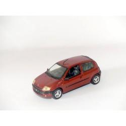 RENAULT CLIO II Phase 1 3 Portes 1998 Marron VITESSE 1:43 sans boite