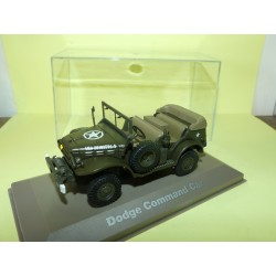DODGE COMMAND CAR MILITAIRE ATLAS N°015 1:43