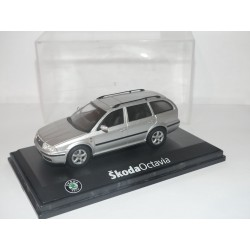 SKODA OCTAVIA II BREAK Phase 1 Gris ABREX 1:43