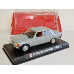 MERCEDES 200 W123 1976 Gris AUTO PLUS 1:43