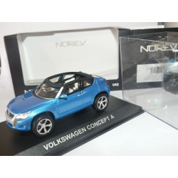 VW CONCEPT A CONCEPT CAR Bleu NOREV 1:43