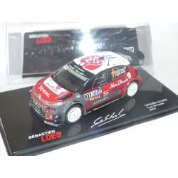 CITROEN C3 WRC RALLYE TOUR DE CORSE 2018 LOEB ALTAYA 1:43