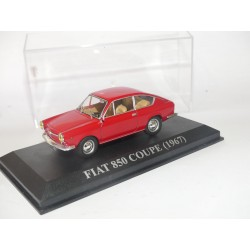 FIAT 850 COUPE 1967 Rouge ALTAYA 1:43