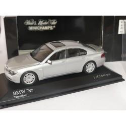 BMW SERIE 7 E65 2000 GRIS MINICHMAPS 1:43