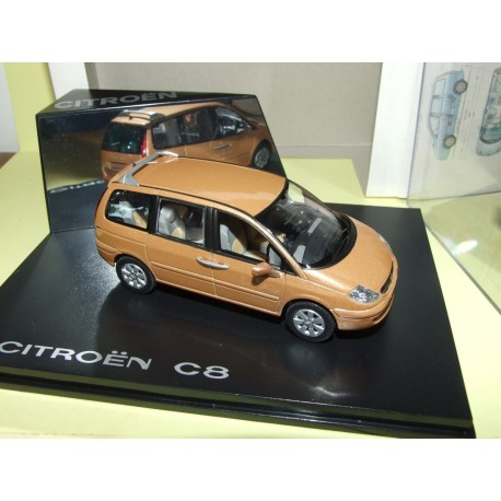 CITROEN C8 Marron Orange NOREV 1:43