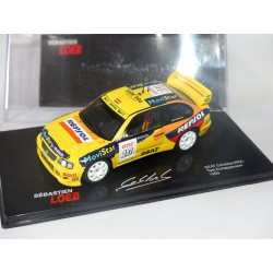 SEAT CORDOBA WRC TEST ECHAPPEMENT 1999 S. LOEB ALTAYA 1:43