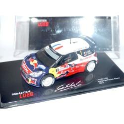 CITROEN DS3 WRC RALLYE FRANCE ALSACE 2012 S. LOEB ALTAYA 1:43