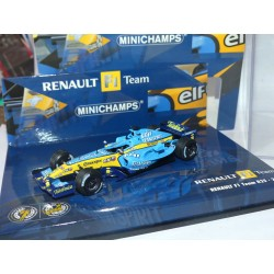 RENAULT R25 N°6 ALONSO MINICHAMPS 1:43