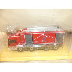 CAMION POMPIERS N°021 MAN TGS Intervention Tunnel TMB IXO PRESSE 1:43