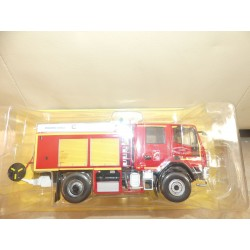 CAMION POMPIERS N°047  IVECO 150 E28 WS YONNE IXO PRESSE 1:43