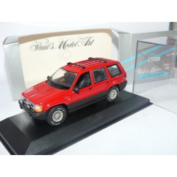 JEEP GRAND CHEROKEE Rouge MINICHAMPS 1:43